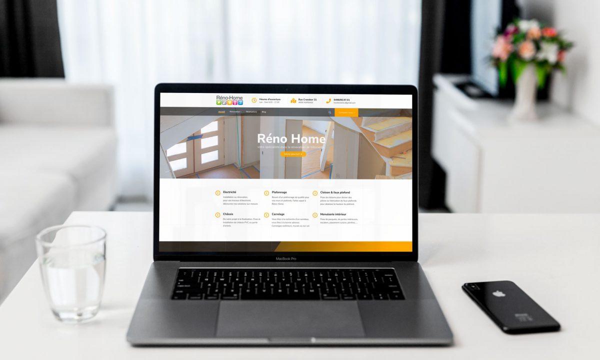 Bienvenue sur le nouveau site flambant neuf de Réno-home, votre spécialiste en rénovations de bâtiments.