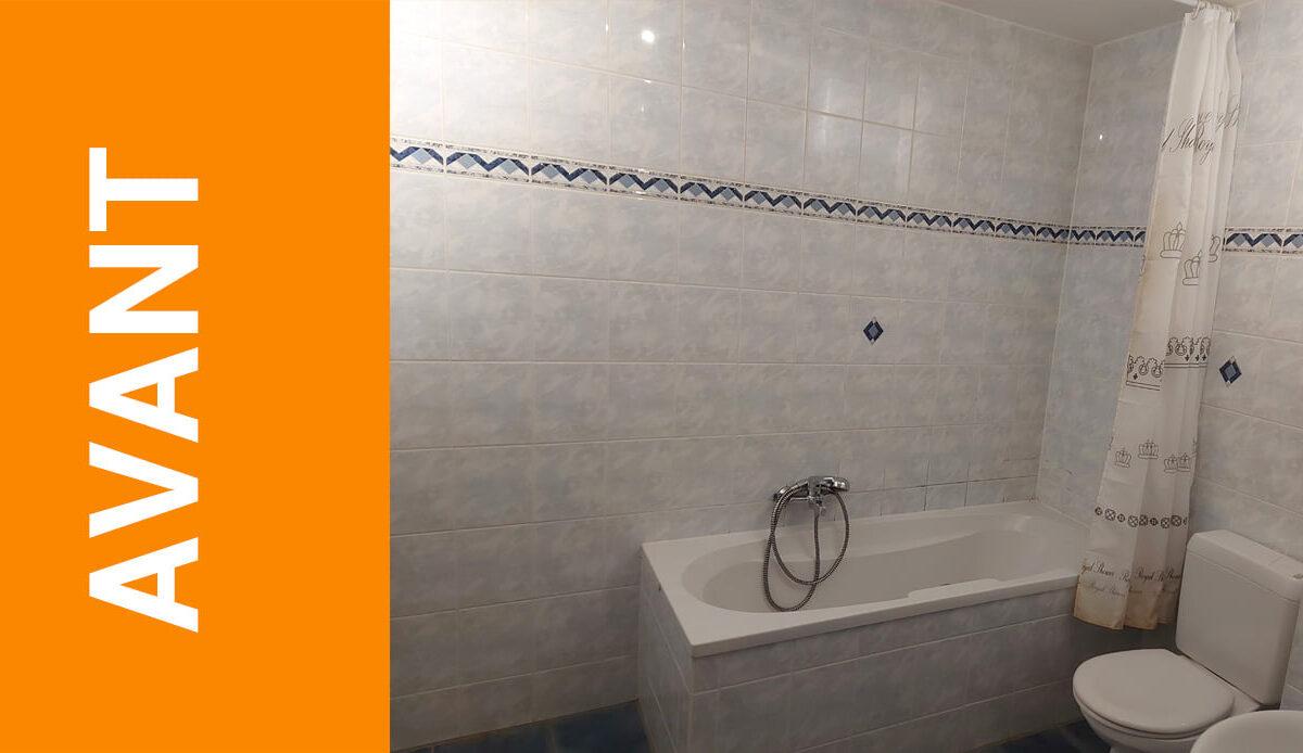 AVANT / APRES  Envie de rénover votre salle de bain ?